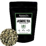 Jasmine Perlas Té Verde (125 Tazas), Té Verde de Jazmín Hojas Sueltas Nivel Bajo de Cafeína, 100% de Té Chino de Jazmín...