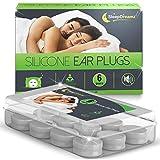 Tapones oidos dormir SleepDreamz® (6 pares) - Tapones oidos ruido, diseñados para proteger contra de los ronquidos y otros...