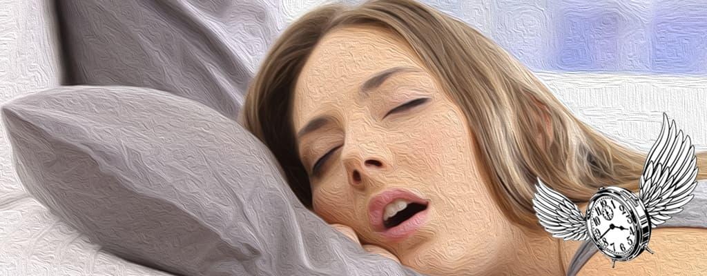 atragantarse saliva durmiendo