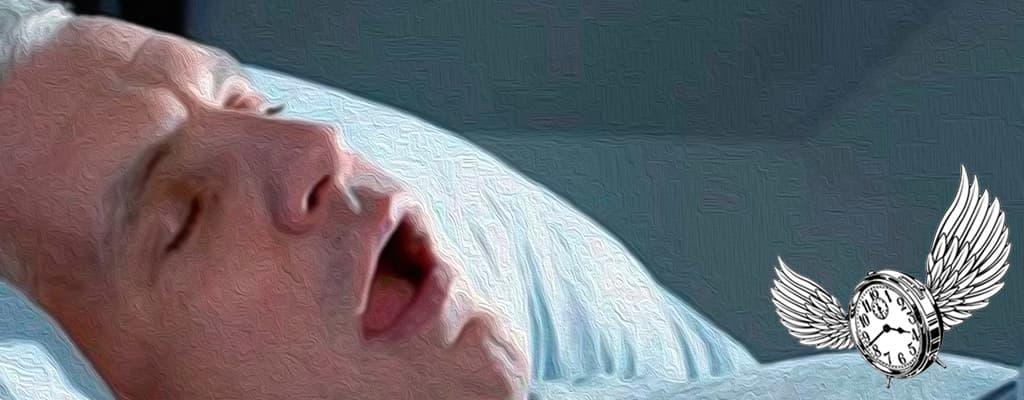 estaba durmiendo y de repente me desperté sin poder respirar