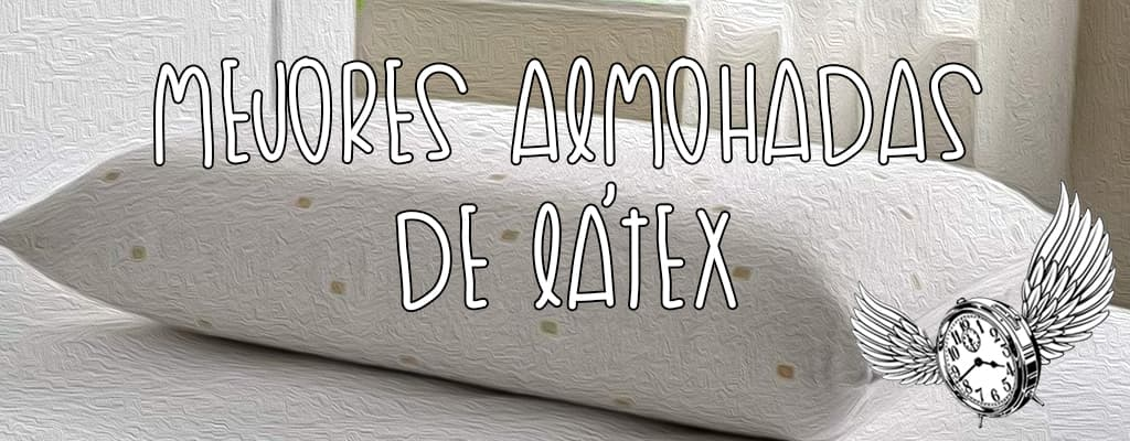 mejor almohada de latex natural
